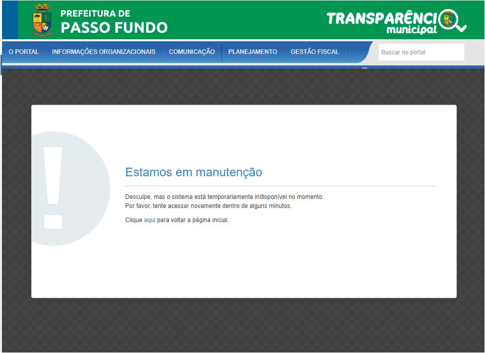 Transparência de Passo Fundo